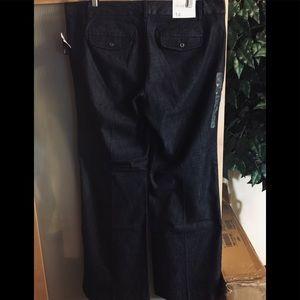 Women's GAP Dark Denim Trousers Size 14